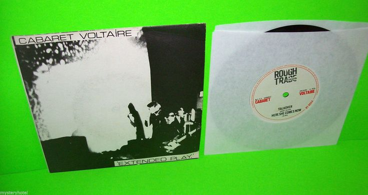 """#CabaretVoltaire #Electronica #Experimental CABARET VOLTAIRE EXTENDED PLAY VINTAGE VINYL 7"""" RECORD 1978 ROUGH TRADE SCARCE"""