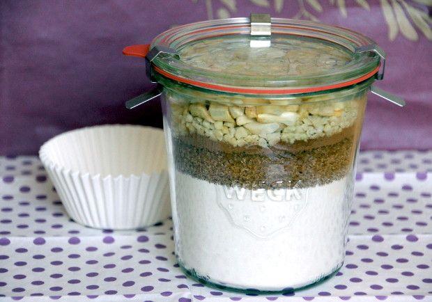 backmischung im glas f r apfel zimt muffins aus dem ebook 39 backmischungen im glas 39 www. Black Bedroom Furniture Sets. Home Design Ideas