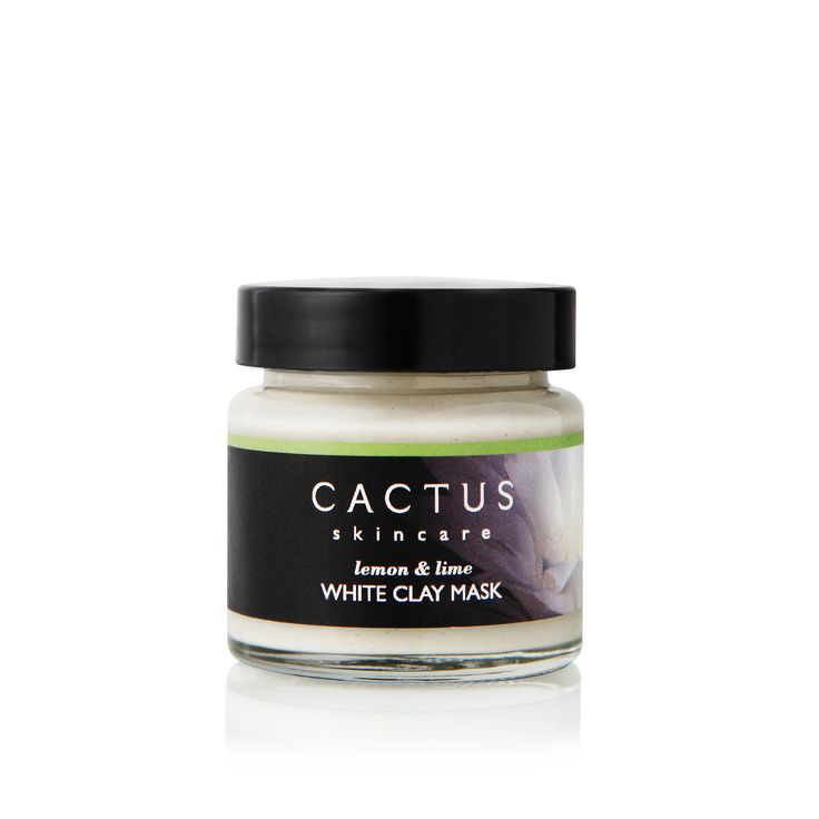 White Clay Mask – Detoxifying Mask For All Skin Types from Cactus Skincare