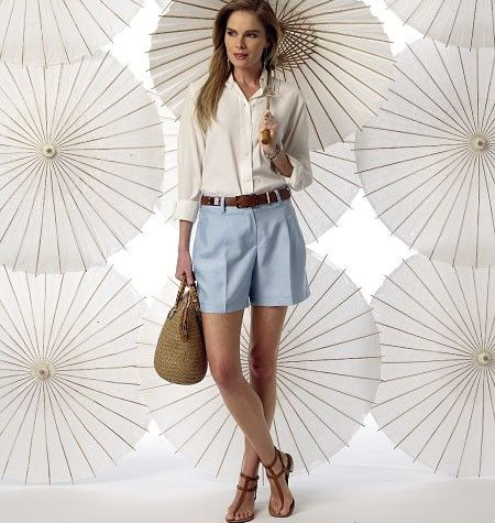 Vogue 9008 - Korte broeken