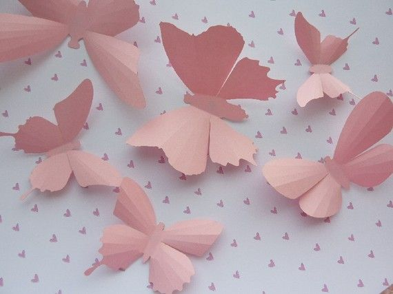 Butterflies on the wall :)