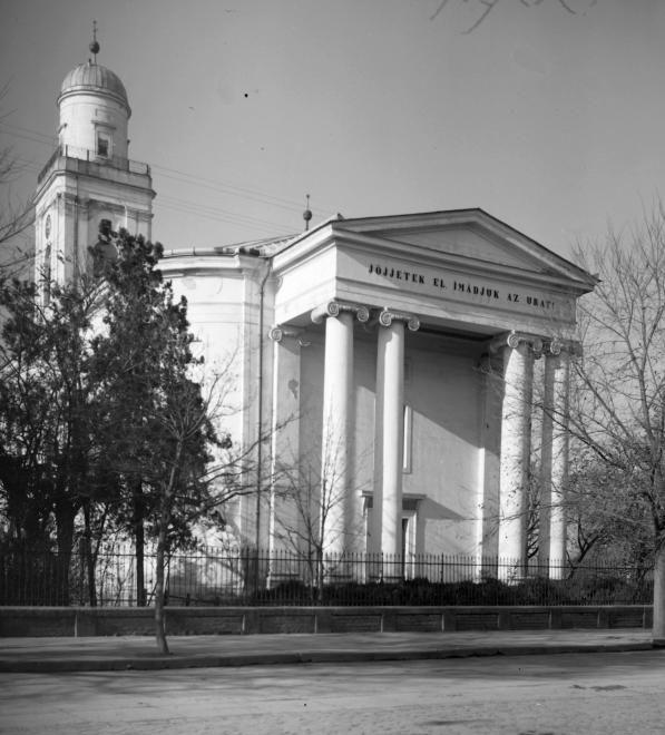 Református templom.