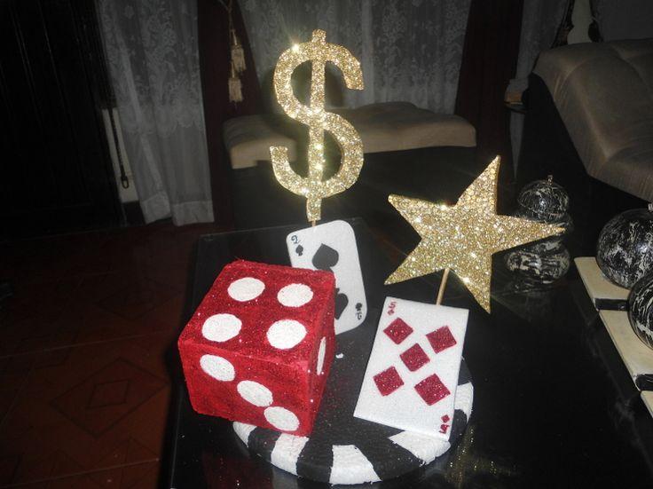 M s de 1000 ideas sobre decoraciones de fiesta de casino for Decoracion de pared para cumpleanos