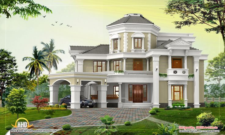 February kerala home design beautiful house design plan for Beautiful houses in india