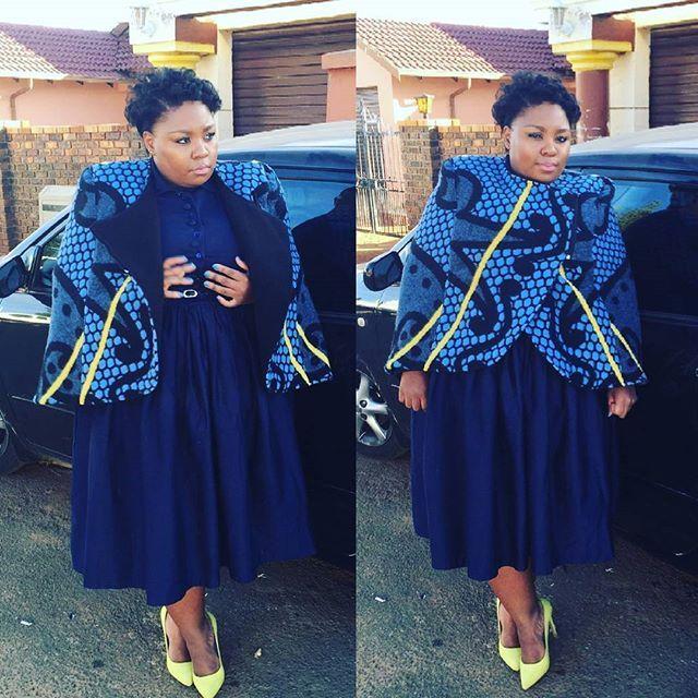 @leelegodi bring that #afroglam look with her #ThaboMakhetha #Kobo #Cape this past weekend. Loving the #yellow shoes to match! #KoboYaBohali #makeityourown #weekendthings #basotho #inspired