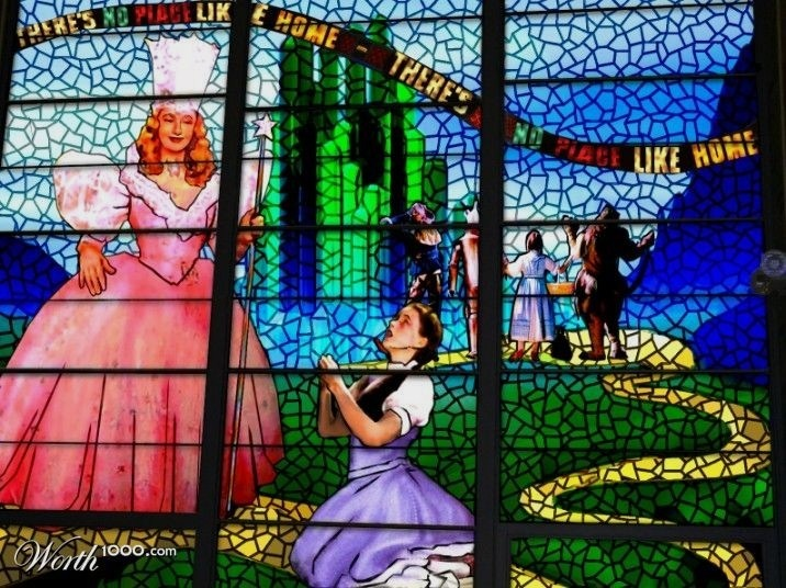 Wizard of Oz Stained Glass