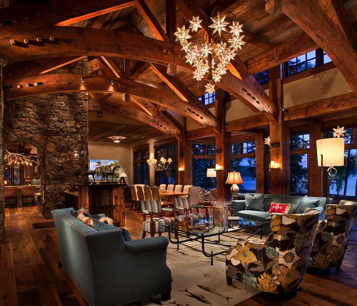 Best 25 Rustic Lake Houses Ideas On Pinterest Lake House Kitchens Lake Houses And Lake House Bedrooms