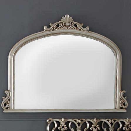 Tulip Ornate Over Mantle Mirror Dunelm Mirrors