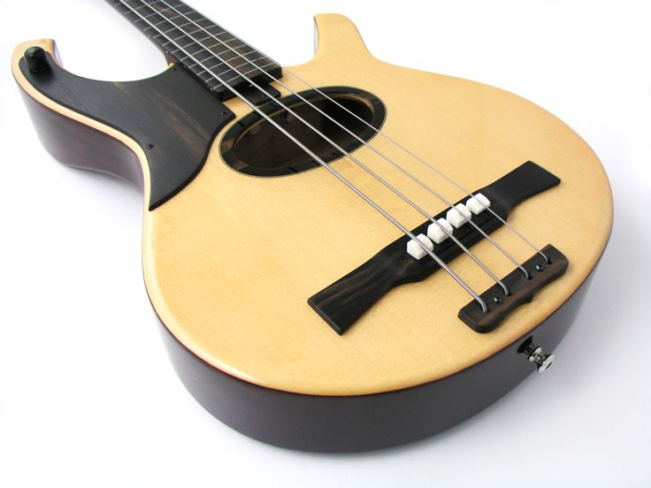 AE4 Swallow (Acoustic/Electric 4-string) : Harvey Citron