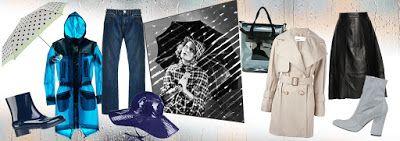 UNIVERSO PARALLELO: Cosa indossare nei giorni di pioggia durante quest...