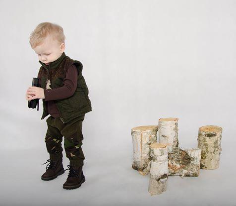 KIDS FASHION#LITTLE HUNTER#CAMO KIDS