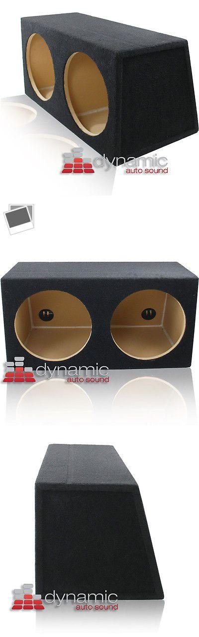 "Other Car Audio: Dual 12"" Mdf Sealed Hatchback Custom Car Audio Subwoofer Box Enclosure Sub New -> BUY IT NOW ONLY: $84.99 on eBay!"