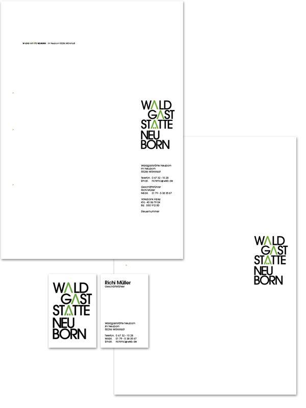 22 best briefbögen images on Pinterest   Brand design, Corporate ...