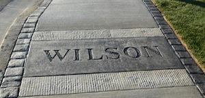 Wilson St Sidewalk