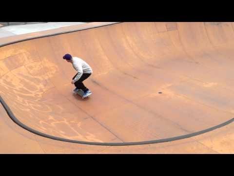 The most beautiful ramp Ive ever skated - Balboa Park, San Francisco