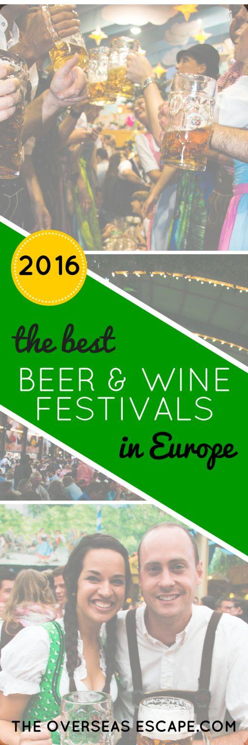 2016 Best Beer & Wine Festivals in Europe
