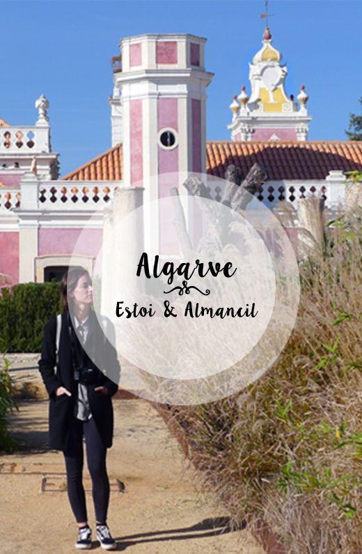 A day trip from Faro to visit Estoi and Almancil. Portugal, Algarve.