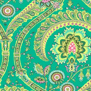 New Chair coverings? LOVE! Feather Paisley in Jade