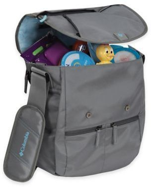 Columbia Rugged PathTM Expandable Messenger Diaper Bag in Graphite