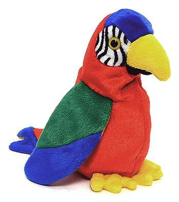Jabber - Parrot - Ty Beanie Babies