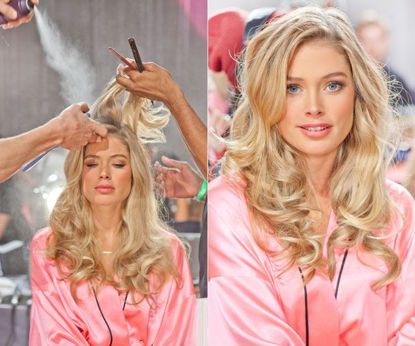 Alessandra Ambrosio Backstage at VS Fashion Show - Behind the Scenes Photos from Victoria's Secret Fashion Show - Harper's BAZAAR
