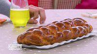 La brioche à huit tresses de Mercotte - Recette de cuisine Le meilleur pâtissier