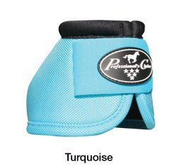 Professionals Choice - Ballistic Overreach Boots. Turquoise goes with EVERYTHING!