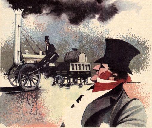 Czech illustration - Oldřich Jelínek