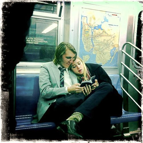Zoe Kazan and Paul Dano 'Real-life' boyfriend and girl friend in their home-town of Brooklyn. Ruby Sparks
