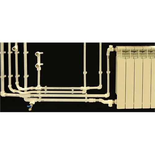 Composite Pipe And Fittings, Sanitary Cold/Hot Water Pipe System - PPRC Product Range