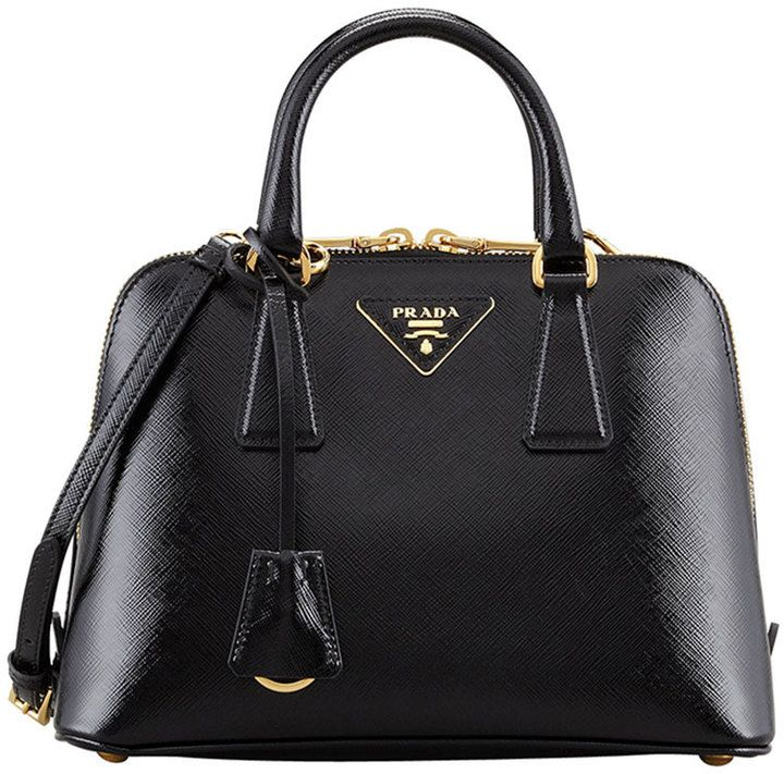 Shop for Small Saffiano Promenade Bag, Black (Nero) by Prada at ShopStyle. Now for Sold Out.