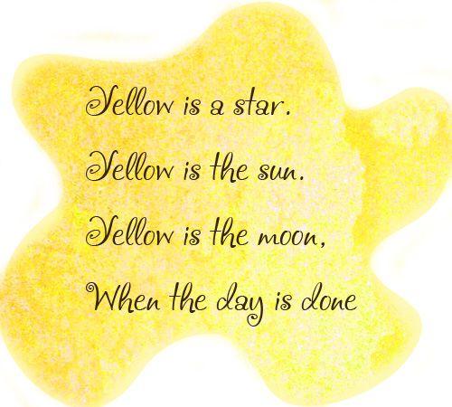 yellow - желтый