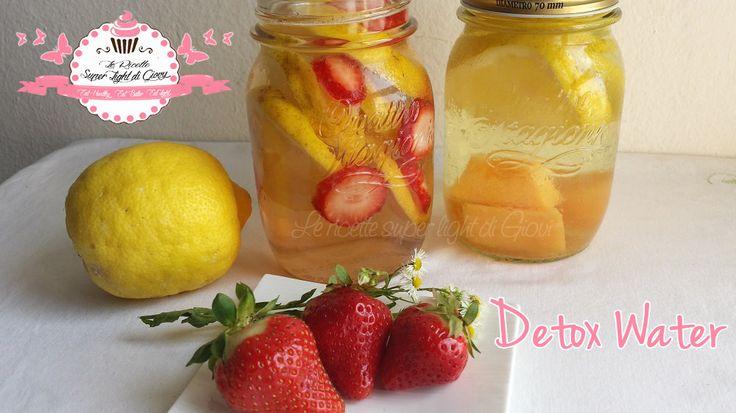 Le Fruity Detox Water! Una rivoluzione! =) scoprite cosa sono e a cosa servono! | LeRicetteSuperLightDiGiovi