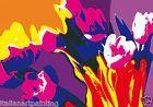 QUADRO MODERNO pop art acrilico su tela arredamento arte opera originale