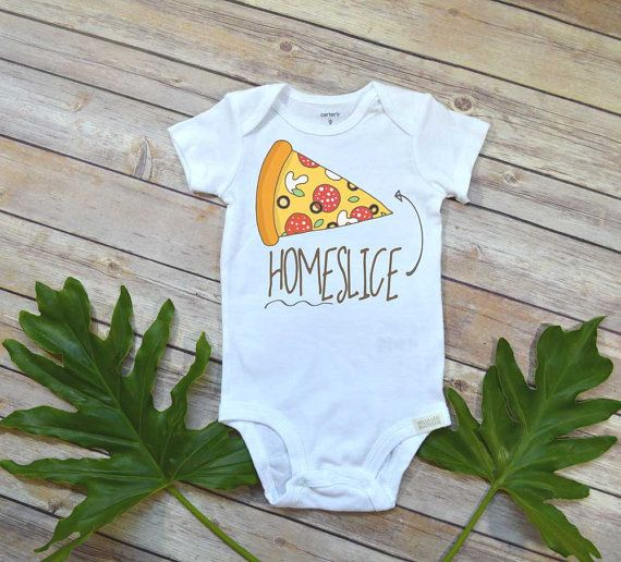 Home Slice Pizza Onesie, Baby Shower Gift, Hipster Baby, Funny Baby Onesies, Pizza Shirt, Pizza Onesie, Nephew Gift, Niece Gift,Baby Clothes