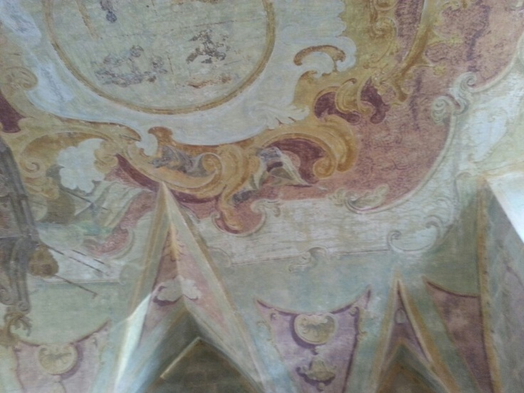 Granafei entrance ceiling