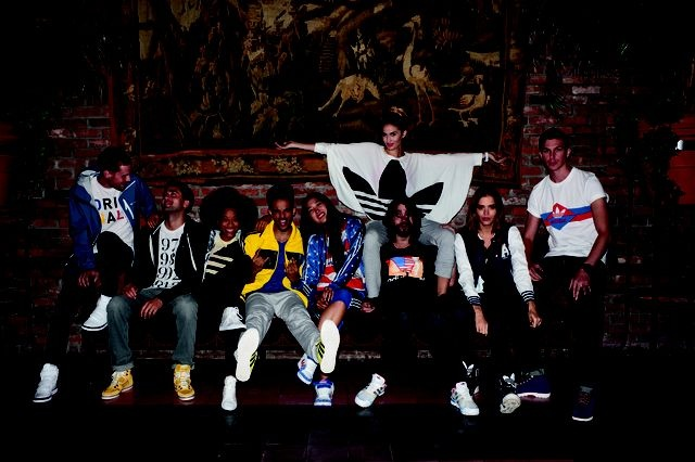 Adidas - Originals AW 2012 Campaign, with hints of vintage and preppy look