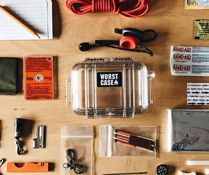 The Worst Case Survival Kit -- If you rate your life, the lowest case continuity kit is a must-bear item to bear in your doomsday rig stockpile. This TSA-safe kit occur stuffed with xii of effective utensil ranging from a micro saw to a fly-fly-fly-fly-fishing kit and a blaze starter.