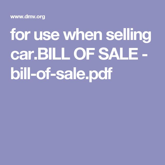Más de 25 ideas increíbles sobre Bill of sale car en Pinterest - bill of sale for land