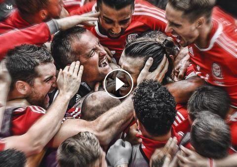 Football Highlights from UEFA Euro 2016 group B match: Wales vs Slovakia Match Result: Wales 2 - 1 Slovakia Played on: June 11, 2016 Venue:Matmut Atla...