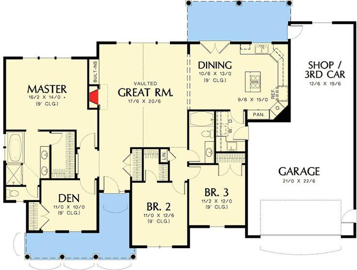 3499 best Plans images on Pinterest House floor plans Floor