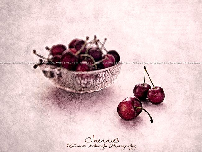 Davide Solurghi Photography - Recent Work - Cherries (Series WG151112-3) |   If you like my photographic work!! ...You can follow me here: http://www.facebook.com/davidesolurghiphotography Thank you very much to everyone for your support!  • Images must not be reproduced modificated and used in any form without the expressed written permission of the copyright holder • ©Davide Solurghi All Rights Reserved