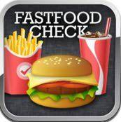 Contador de calorías de comida rápida, aplicación para iPad