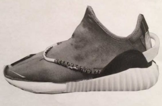 Kanye West Shows Us An Early Photoshop Design Of The adidas