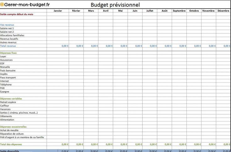 On sait qu il est important de tenir ses comptes for Calcul budget maison