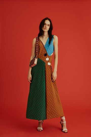 Все дело в принтах! Японские цветы, горох и клетка от Diane von Furstenberg | Журнал Cosmopolitan