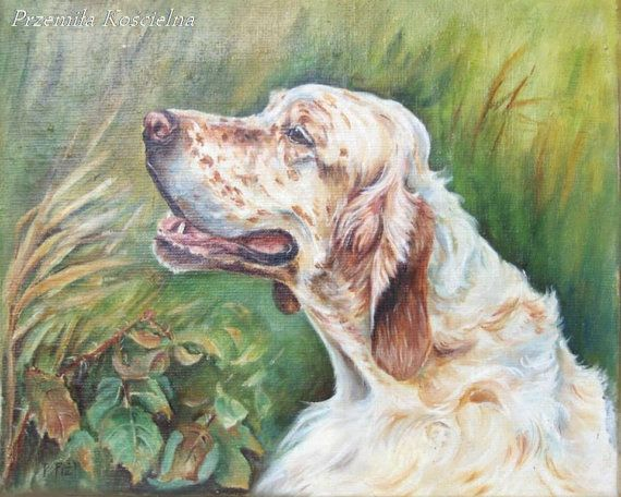 CUSTOM DOG PORTRAIT, Realistic painting on canvas, Dog memorial from photos , Scenic Pet portrait, Dog Art hand painted For dog lovers, 50%    #dog #animal #painting