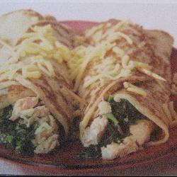 Zalm-spinazie pannenkoeken @ allrecipes.nl