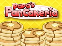 Play Papa's Pancakeria Now at hoodamath.com - Help Prudence and Cooper run Papa's Pancakeria! You'll need to cook and stack pancakes, french toast, and waffles in Papa's latest time-management game. The hands-on gameplay of the series returns, with new challenges related to stacking, arranging toppings and pouring syrup.