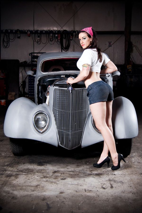 Best Girls And Cars Images On Pinterest Car Girls Pin Up